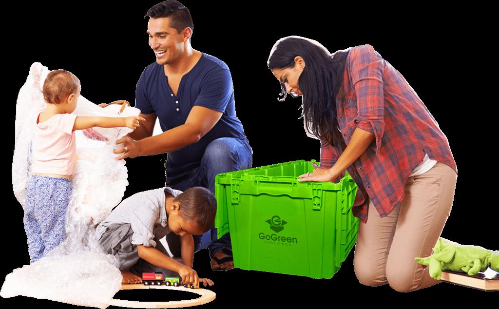 Rental Moving Boxes